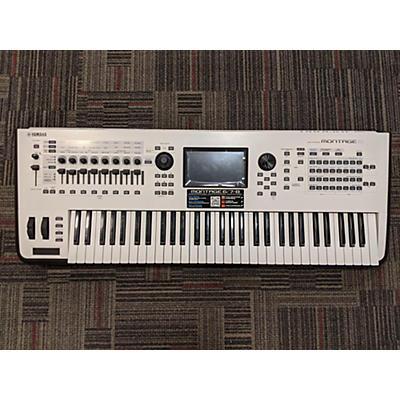 Yamaha Montage 6 White Synthesizer