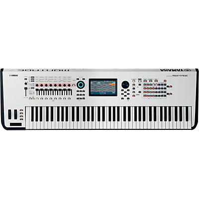 Yamaha Montage 7 76-Key Flagship Synthesizer White