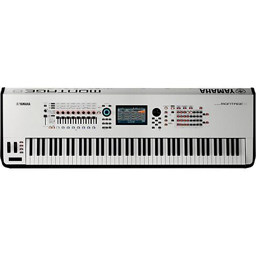 Yamaha Montage 8 88-Key Flagship Synthesizer White