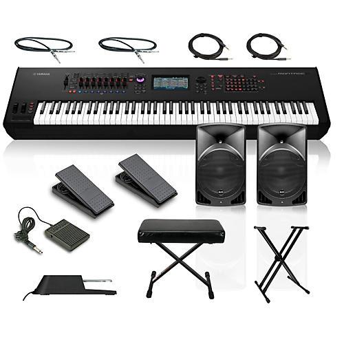 Yamaha montage 8 88 key synthesizer with powered speakers for Yamaha montage 8 case
