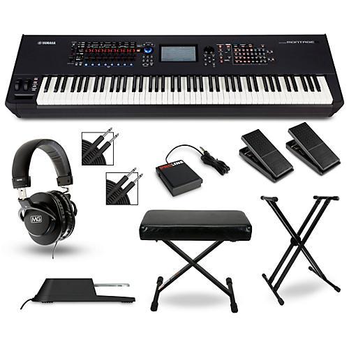 Yamaha Montage 8 Synthesizer Package