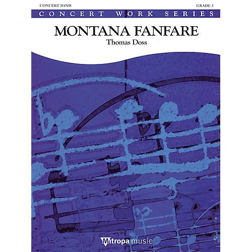 De Haske Music Montana Fanfare Concert Band Gr 3 Full Score Concert Band