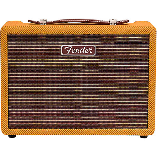 Fender Monterey 120W Bluetooth Desktop Speaker with Dual 5.12 in. Woofers