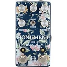 Walrus Audio Monument Floral Harmonic Tap Tremolo V2 Effects Pedal
