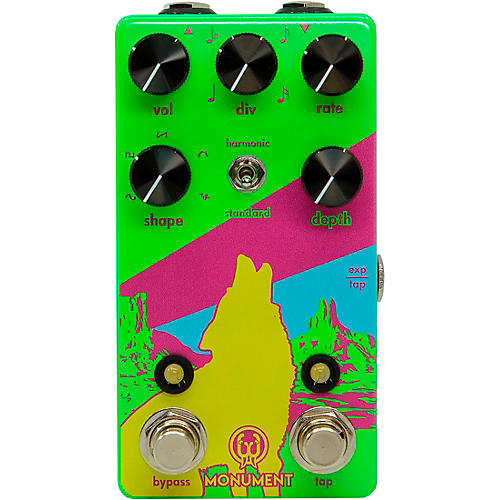Walrus Audio Monument V2 Limited-Edition Neon Harmonic Tap Tremolo Effects Pedal