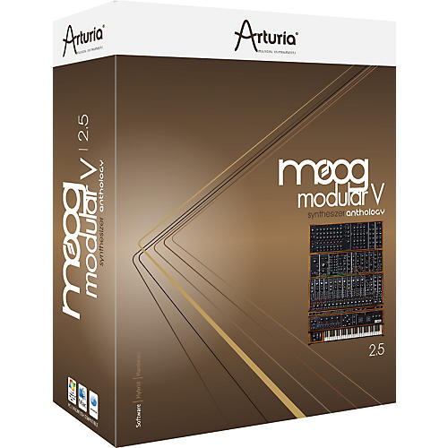 Arturia Moog Modular V 2.5 Virtual Instrument Software