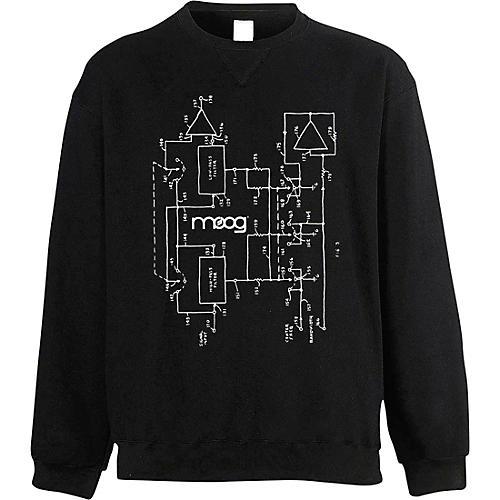 Moog Moogfest 2018 Diagram Sweat Shirt Medium