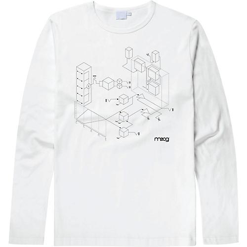 Moog Moogfest 2018 Exploded View Long Sleeve Shirt