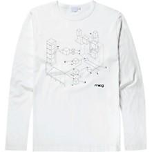 Moogfest 2018 Exploded View Long Sleeve Shirt Medium