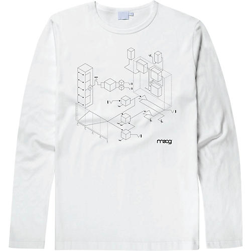 Moog Moogfest 2018 Exploded View Long Sleeve Shirt