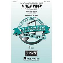 Hal Leonard Moon River (from Breakfast at Tiffany's) SSA arranged by Ed Lojeski