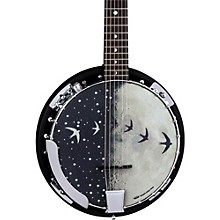 Open Box Luna Guitars Moonbird BGB 6-String Acoustic-Electric Banjo