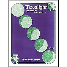 Willis Music Moonlight Mid Elementary Piano Solo by William Gillock