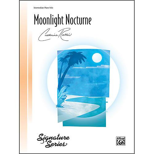 Alfred Moonlight Nocturne Intermediate Piano Sheet