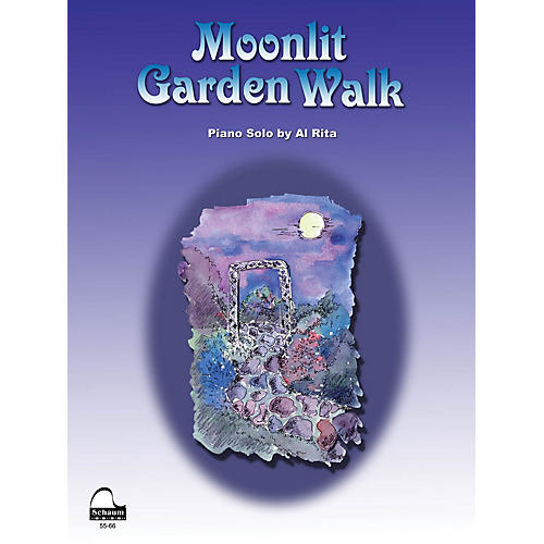 SCHAUM Moonlit Garden Walk Educational Piano Series Softcover