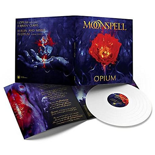 Alliance Moonspell - Opium (White Vinyl)