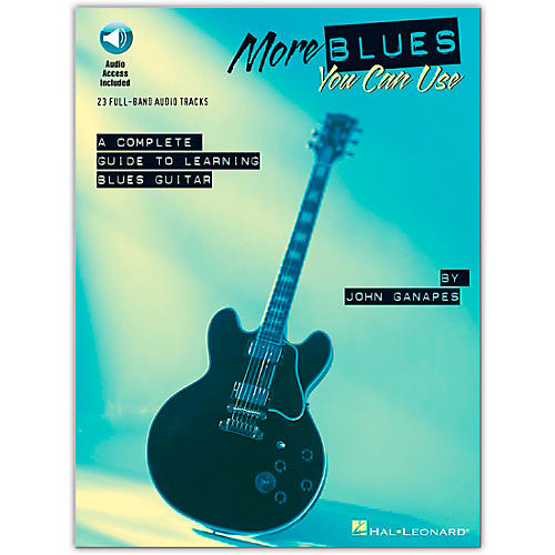 Hal Leonard More Blues You Can Use (Book/Online Audio)