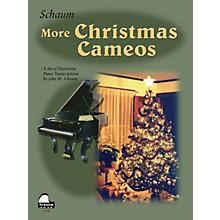 SCHAUM More Christmas Cameos (Level 6 Early Advanced Level) Educational Piano Book