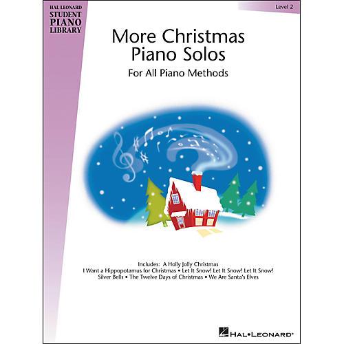 Hal Leonard More Christmas Piano Solos Hal Leonard Student Piano Library Book 2