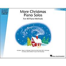 Hal Leonard More Christmas Piano Solos Pre-Staff Hal Leonard Student Piano Library
