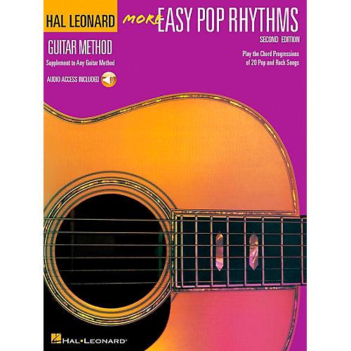 Hal Leonard More Easy Pop Rhythms Guitar Method (Book/CD)