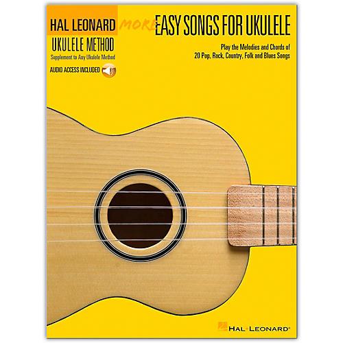 Hal Leonard More Easy Songs For Ukulele Book/Online Audio