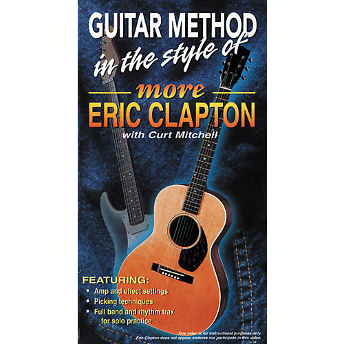 MVP More Eric Clapton VHS Video