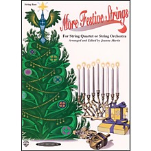 Alfred More Festive Strings Bass (Book)