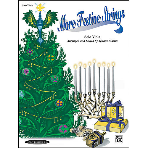 Summy-Birchard More Festive Strings for Solo Instruments Solo Viola