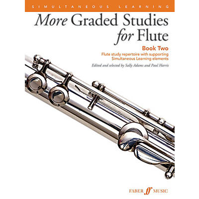 Alfred More Graded Studies for Flute, Book 2