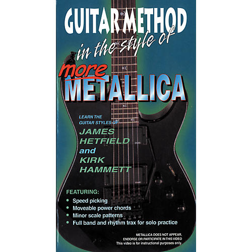 MVP More Metallica Video (VHS)