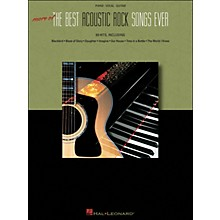 Hal Leonard More Of The Best Acoustic Rock Songs Ever arranged for piano, vocal, and guitar (P/V/G)