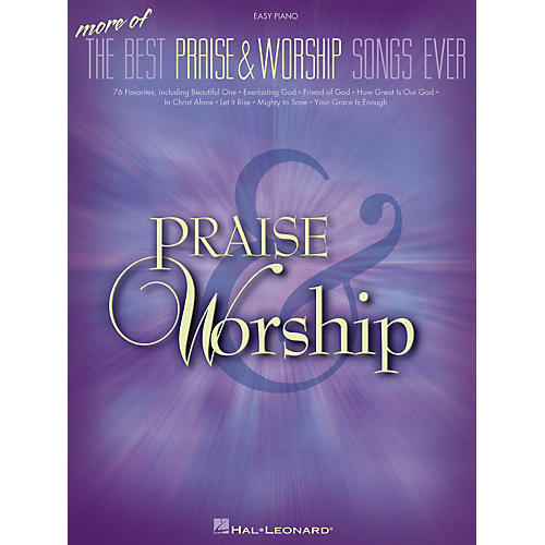 Hal Leonard More Of The Best Praise & Worship Songs Ever For Easy Piano