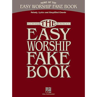 Hal Leonard More Of The Easy Worship Fake Book