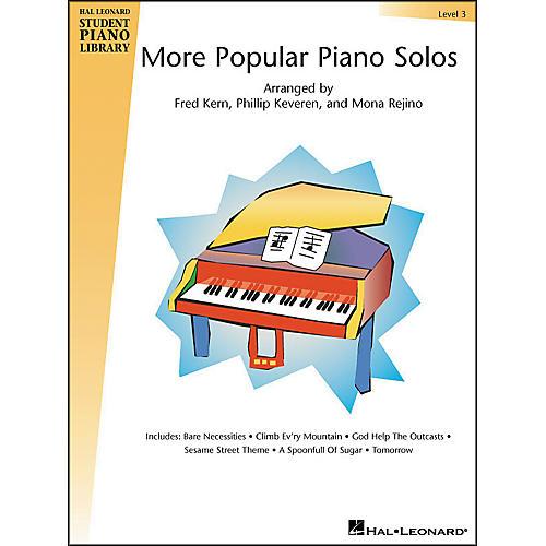 Hal Leonard More Popular Piano Solos Book 3 Hal Leonard Student Piano Library