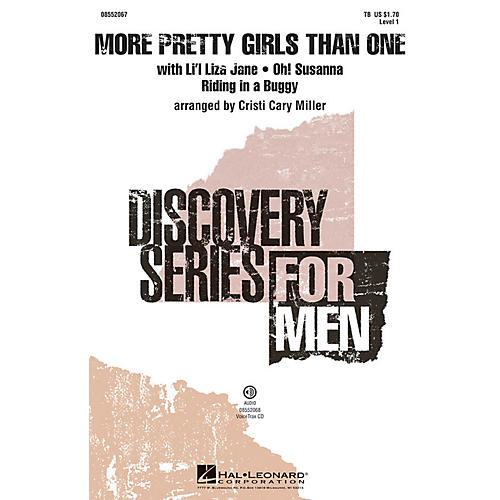 Hal Leonard More Pretty Girls Than One (Medley) Discovery Level 1 VoiceTrax CD Arranged by Cristi Cary Miller