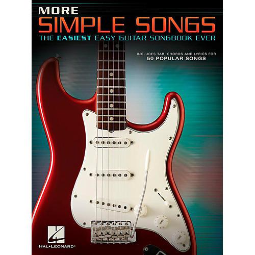 Hal Leonard More Simple Songs - The Easiest Easy Guitar Songbook Ever