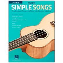 Hal Leonard More Simple Songs for Ukulele Songbook