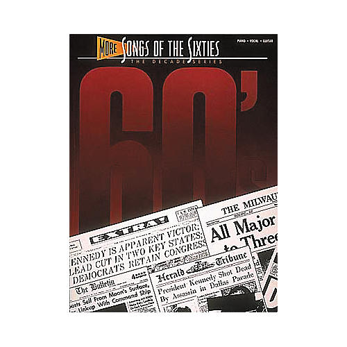 Hal Leonard More Songs Of The 60's Songbook