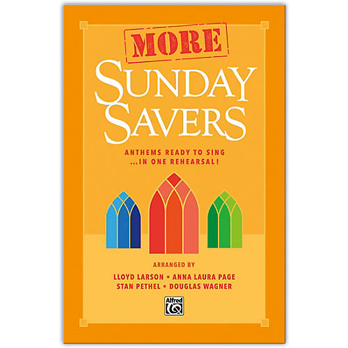 Alfred More Sunday Savers SATB Choral Book