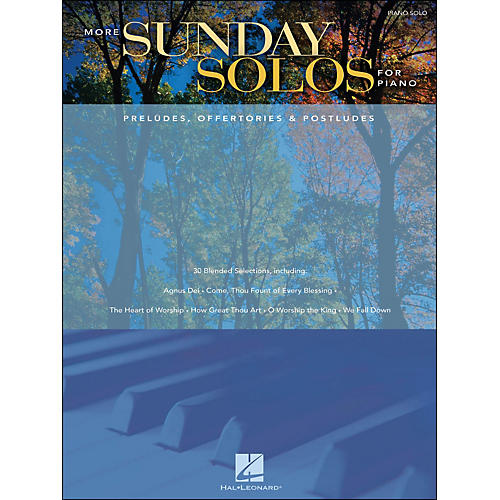 Hal Leonard More Sunday Solos for Piano - Preludes, Offertories & Postludes arranged for piano solo