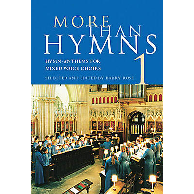 Novello More Than Hymns 1 (Hymn-Anthems for Mixed Voice Choirs) SATB