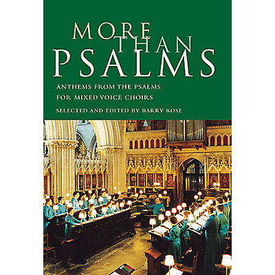 Novello More Than Psalms (Anthems from the Psalms for Mixed Voice Choirs) SATB