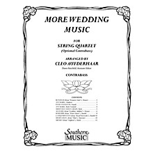 Southern More Wedding Music Southern Music Series Arranged by Cleo Aufderhaar