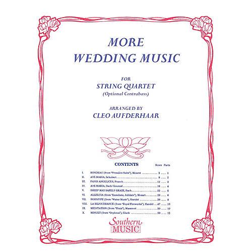 String Quartet Wedding Songs Ideas: Southern More Wedding Music (String Quartet) Southern