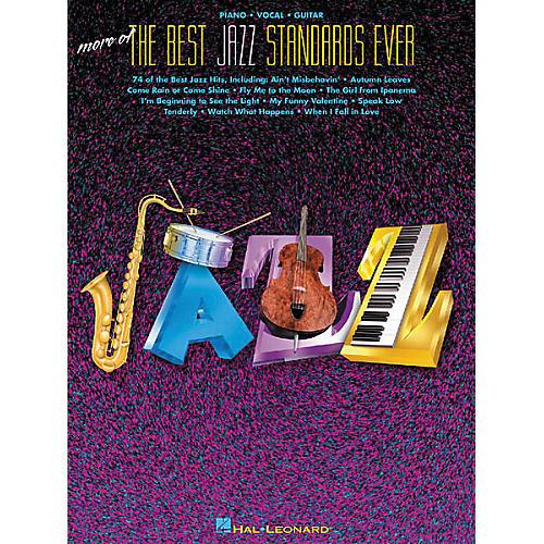 Hal Leonard More of the Best Jazz Standards Ever Songbook