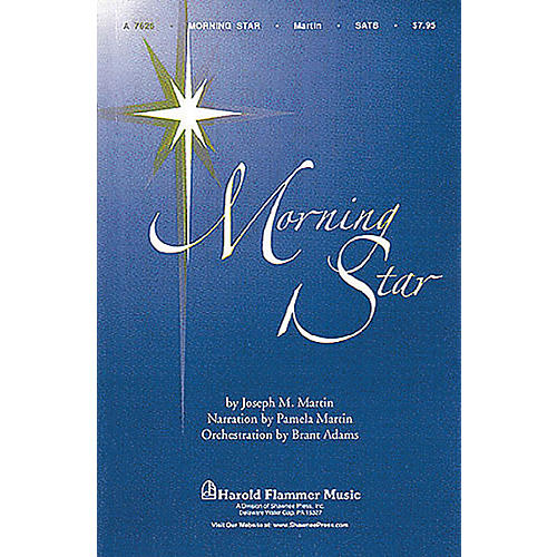 Shawnee Press Morning Star SATB arranged by Brant Adams