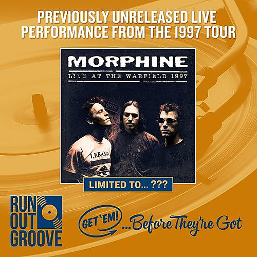 Alliance Morphine - Live At The Warfield 1997