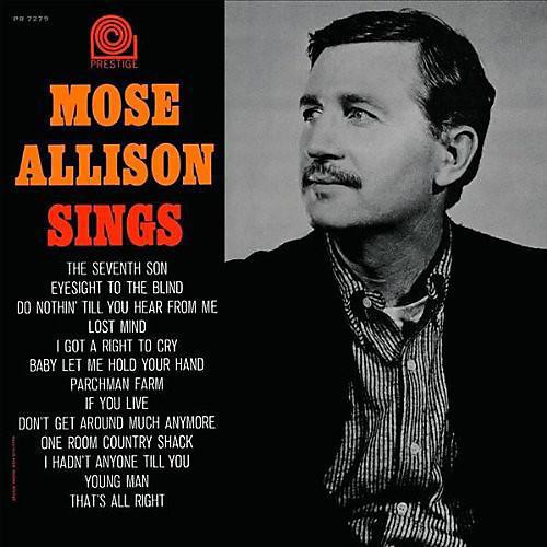 Alliance Mose Allison - Mose Allison Sings