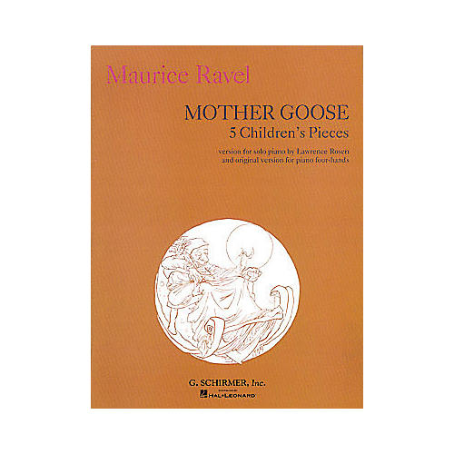 G. Schirmer Mother Goose Suite Piano Solo 5 Children's Pieces Five By Ravel